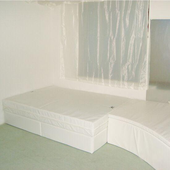 Rompa Musikwasserbett 100x200x50 cm hoch, Mit 2 Pulsgebern