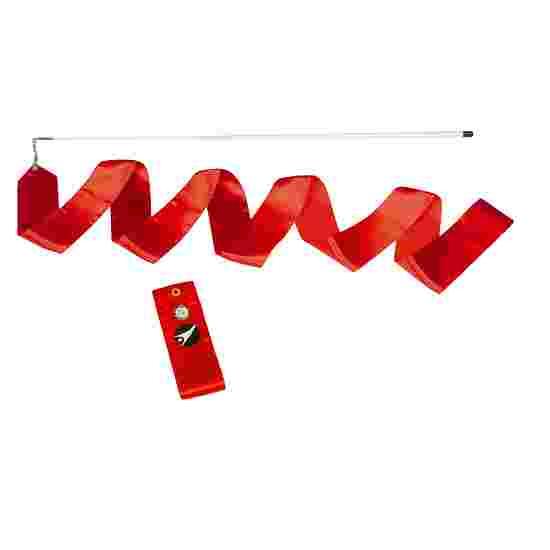 Ruban de gymnastique Sport-Thieme Compétition, 6 m de long, Rouge