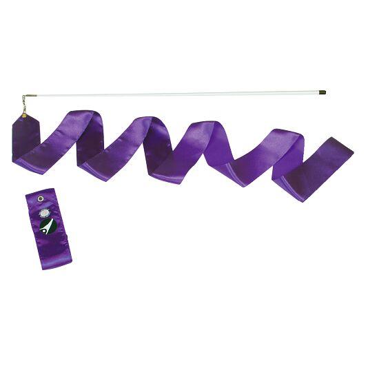 Ruban de gymnastique Sport-Thieme Compétition, 6 m de long, Violet