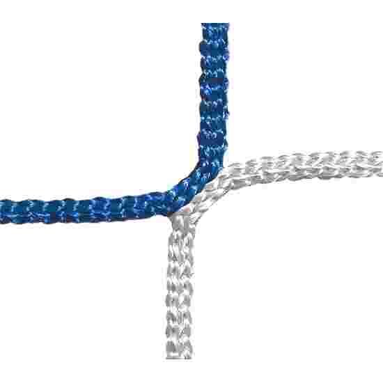 Schutz- und Stoppnetz, 12 cm Maschenweite Blau-Weiss, ø 4,00 mm