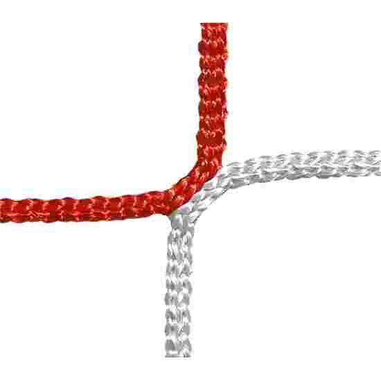 Schutz- und Stoppnetz, 12 cm Maschenweite Rot-Weiss, ø 4,00 mm
