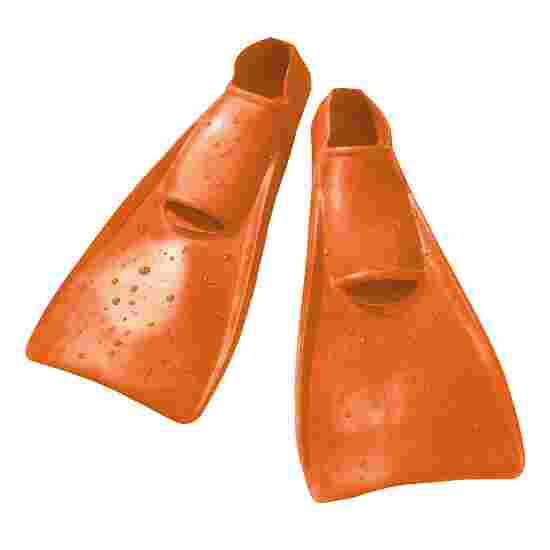 Schwimmflossen Entenschuhe Grösse 22–24, Orange