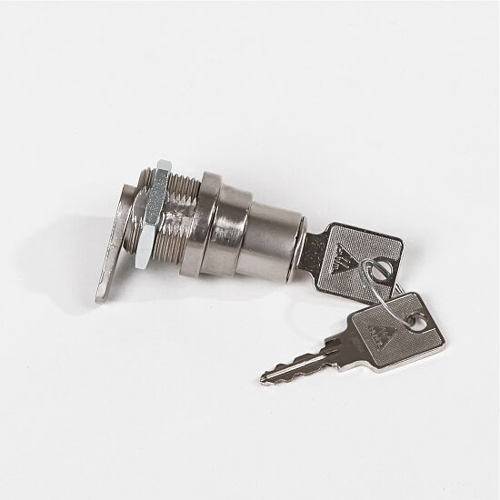 Serrure à cylindre avec fonction appuyer-tourner pour portes coulissantes
