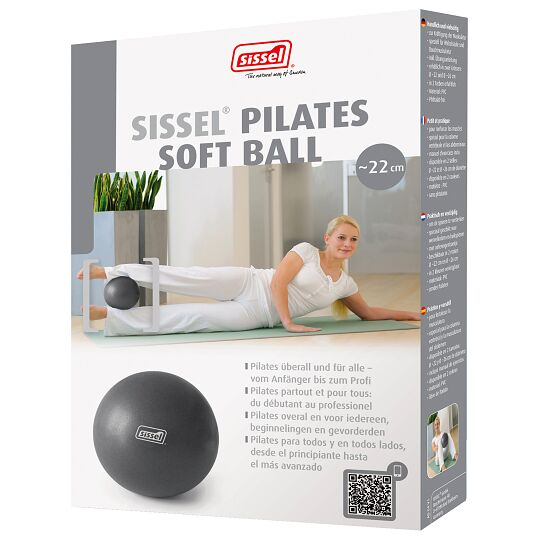 Sissel Pilates Soft Ball ø 26 cm, Metallic