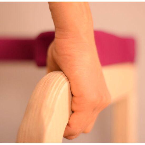Siya Yoga Kopfstandhocker An der Wand, Beere