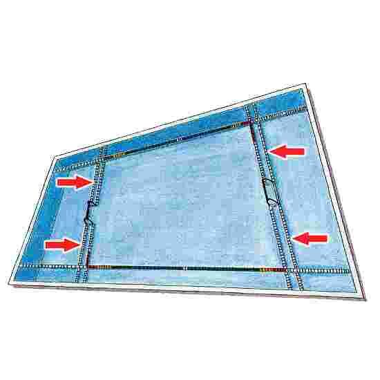 Spannleinenset für Wasserball-Tore