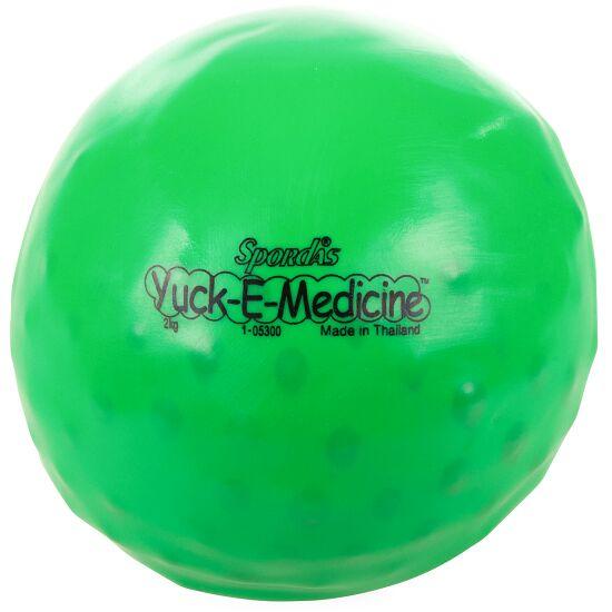 "Spordas Medizinball  ""Yuck-E-Medicineball"" 2 kg, ø 16 cm, Grün"