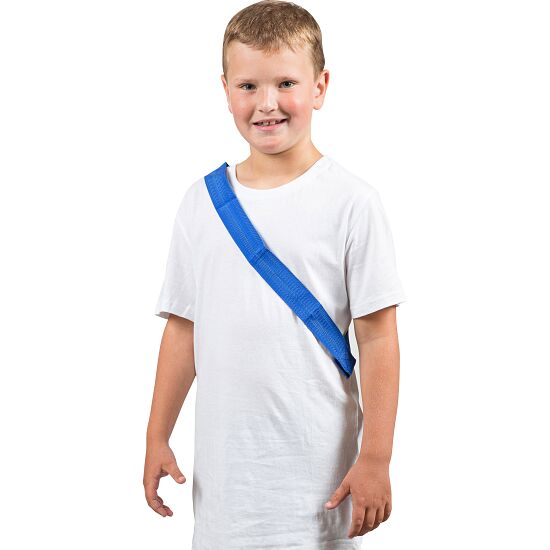 Sport-Thieme Écharpe de marquage Enfant , L: 55 (110) cm, Bleu