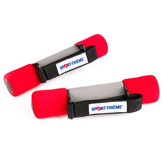Sport-Thieme Aerobic Hanteln 1 kg, Rot
