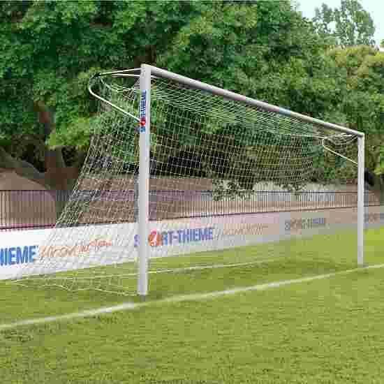 Sport-Thieme Alu-Fussballtore, 7,32x2,44 m, eckverschweisst, in Bodenhülsen stehend Netzhalteschiene