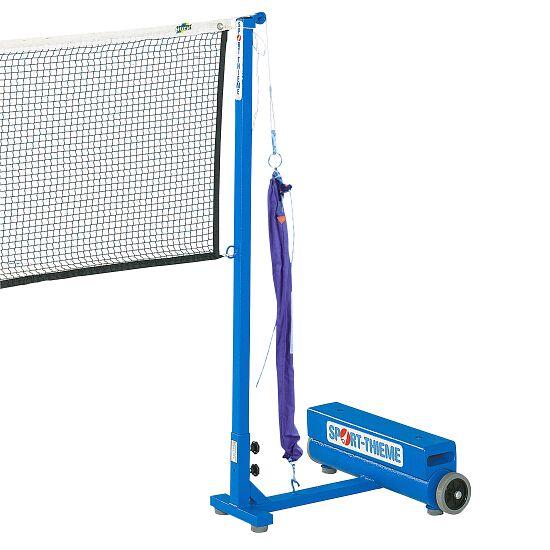 Sport-Thieme Badminton-Pfosten mit Zusatzgewichten Flaschenzugsystem