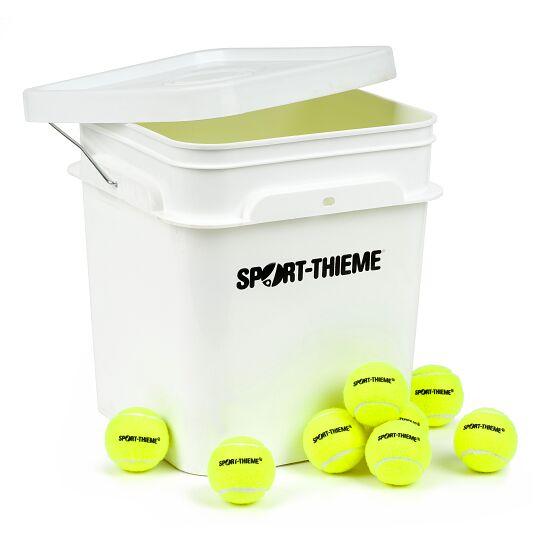 Sport-Thieme Balles de tennis « Trainer » Lot de 60 avec sceau