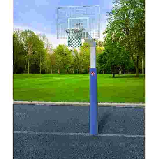 """Sport-Thieme Basketballanlage  """"Fair Play Silent"""" mit Herkulesseil-Netz Korb """"Outdoor"""" abklappbar, 120x90 cm"""