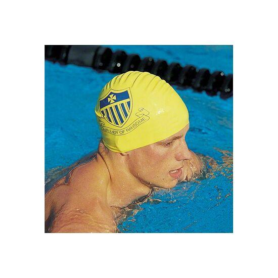 Sport-Thieme® Bedruckte Schwimmkappe Latex Weiss, 1-seitig