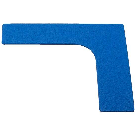 Sport-Thieme Bodenmarkierung Ecke, 26 cm, Blau