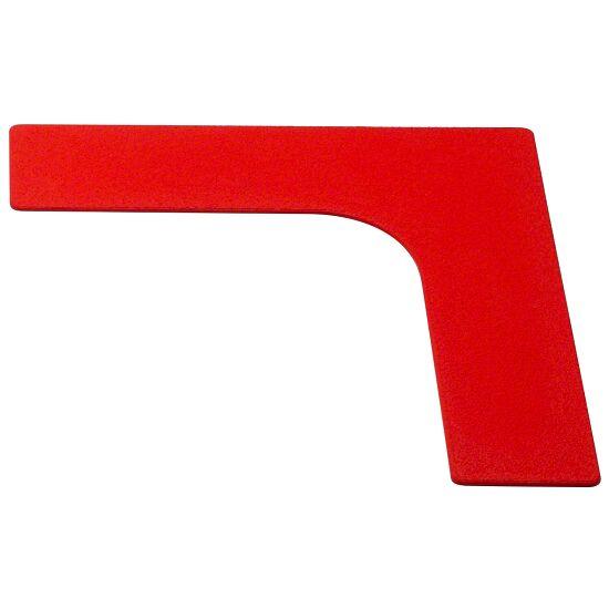 Sport-Thieme Bodenmarkierung Ecke, 26 cm, Rot