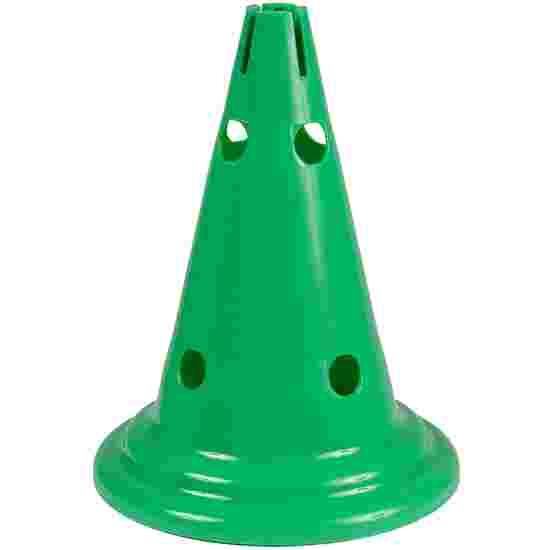 Sport-Thieme Cône multifonction Vert, 30 cm, 8 trous