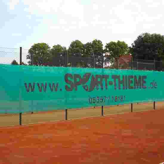 Sport-Thieme Filet brise-vent et pare-vue 18x2 m, vert foncé
