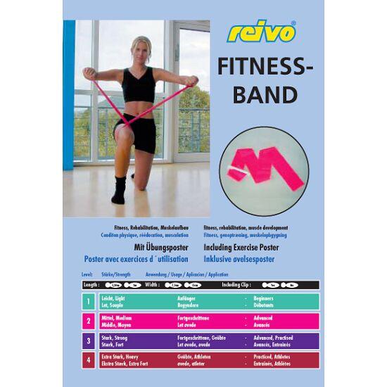 Sport-Thieme Fitnessband 150 2 m x 15 cm, Grün = leicht