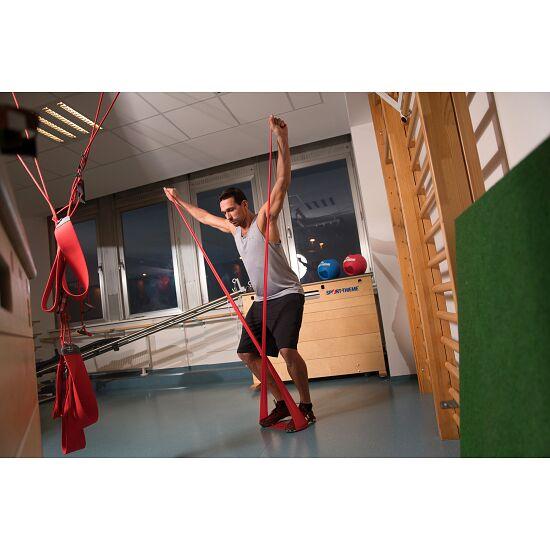 Sport-Thieme Fitnessband 150 2 m x 15 cm, Rot = extra stark