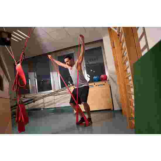 Sport-Thieme Fitnessband 150 2 m x 15 cm, Rot, extra stark