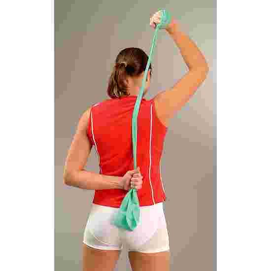 Sport-Thieme Fitnessband 75 2 m x 7,5 cm, Grün, leicht