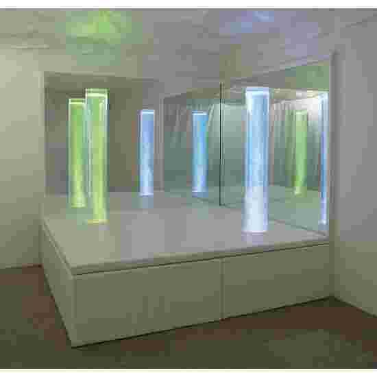 Sport-Thieme Gepolsterte Plattform für Blasensäulen 130x130x50 cm, bis zu 2 Säulen