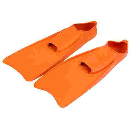 Sport-Thieme Gummi-Schwimmflossen 34-35, L: 36 cm, Orange