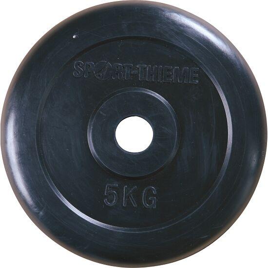 Sport-Thieme® Gummierte Hantelscheibe 5 kg