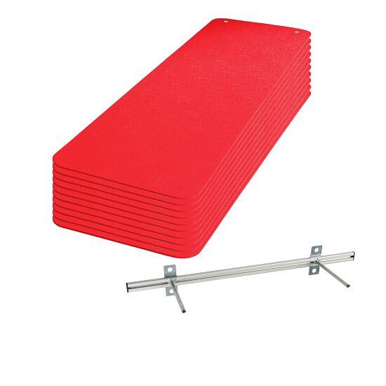 "Sport-Thieme Gymnastikmatten-Set ""Fit&Fun"" Rot"