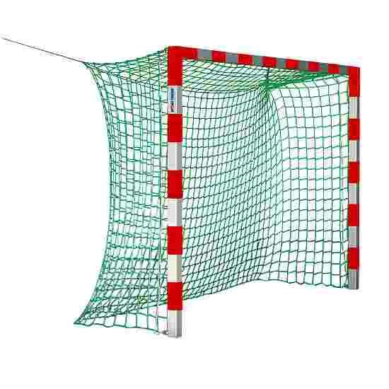 Sport-Thieme Hallenhandballtor 3x2 m, ohne Netzbügel Rot-Silber