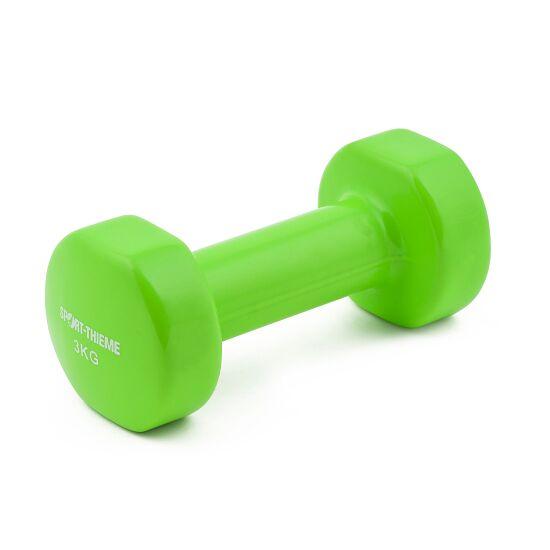 Sport-Thieme Haltère court en vinyle 3 kg, menthe