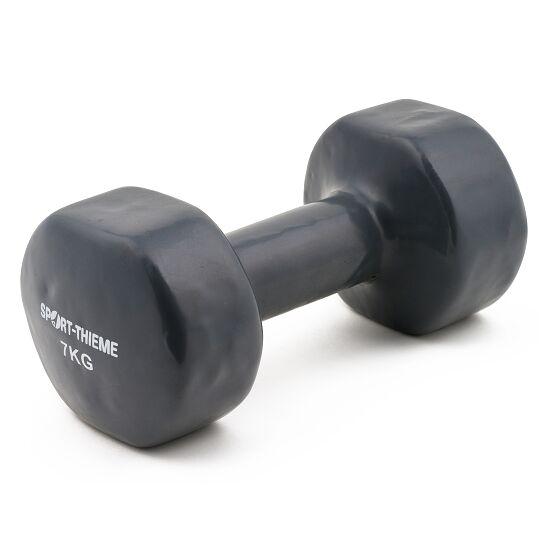 Sport-Thieme Haltère court en vinyle 7 kg, gris