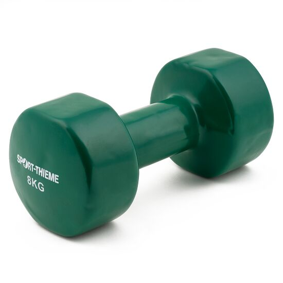 Sport-Thieme Haltère court en vinyle 8 kg, vert