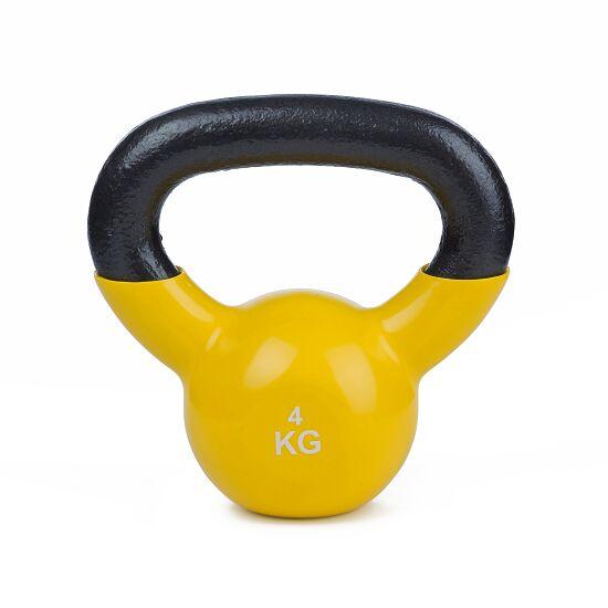 Sport-Thieme Kettlebell  Vinyl 4 kg Gelb