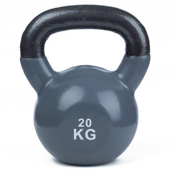 Sport-Thieme Kettlebell  Vinyl 20 kg, Grau