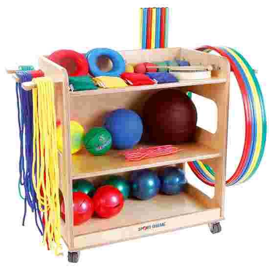 Sport-Thieme Kit pour jardins d'enfants et maternelles Avec chariot de rangement