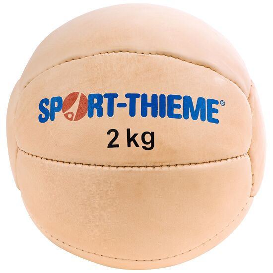 Sport-Thieme Medecin ball « Tradition » 2 kg, ø 25 cm