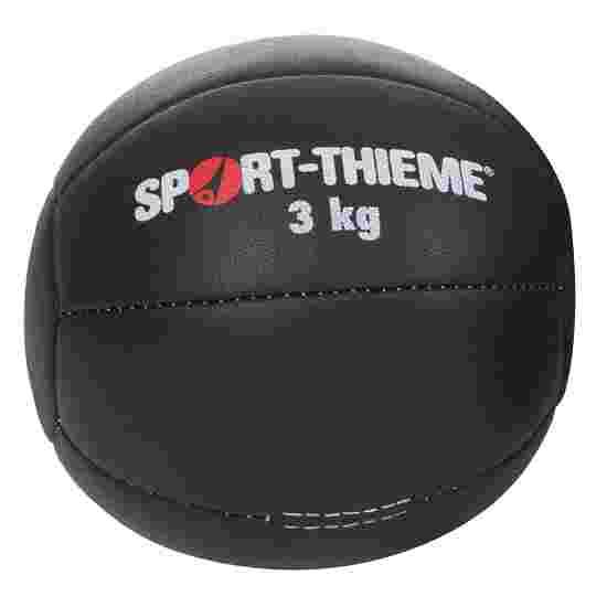 "Sport-Thieme Medizinball  ""Schwarz"" 3 kg, ø 22 cm"