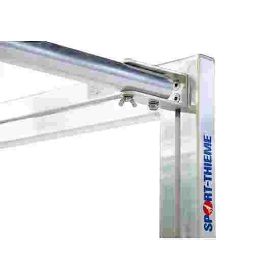 Sport-Thieme Mini but d'entraînement avec supports de filet pliables 1,20x0,80 m, profondeur 0,70 m, Filet inclus, vert (mailles 10 cm)