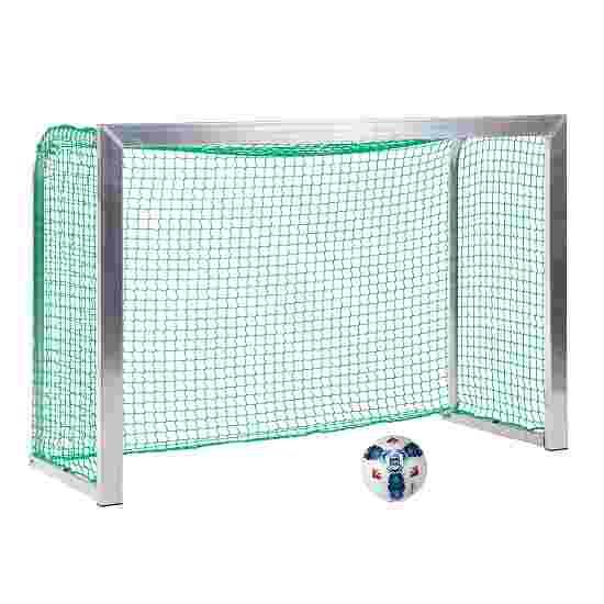Sport-Thieme Mini but d'entraînement avec supports de filet pliables 1,80x1,20 m, profondeur 0,70 m, Filet inclus, vert (mailles 4,5 cm)