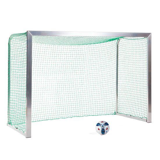 Sport-Thieme Mini but d'entraînement avec supports de filet pliables 2,40x1,60 m, profondeur 1,00 m, Filet inclus, vert (mailles 4,5 cm)