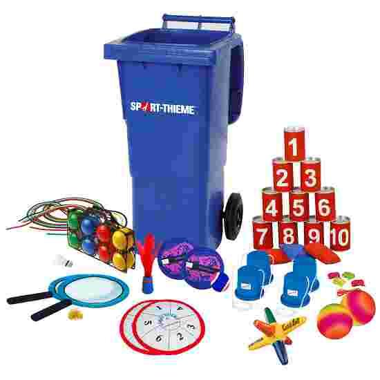 Sport-Thieme Mini container à jeux «Jeux de lancer»