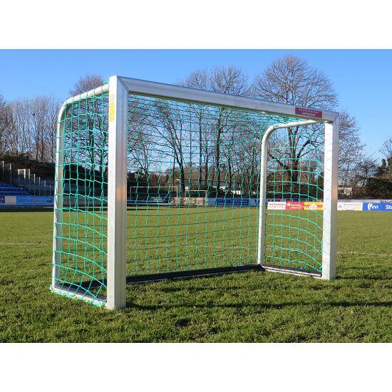 "Sport-Thieme® Mini-Fussballtor ""Safety"" mit PlayersProtect 1,20x0,80 m, Inkl. Netz, grün (MW 10 cm)"