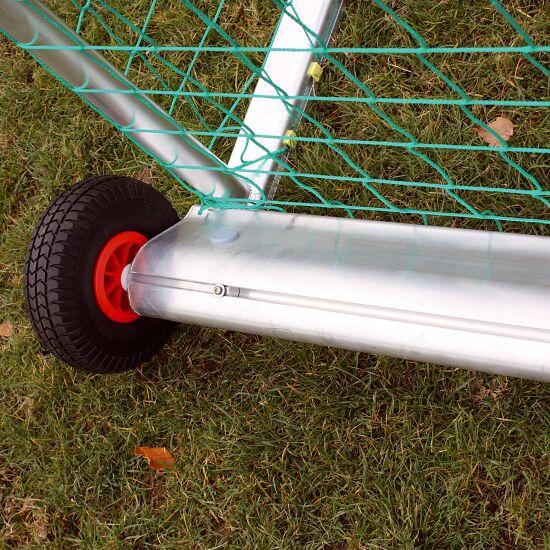 "Sport-Thieme Mini-Fussballtor ""Safety"" 1,20x0,80 m, Inkl. Netz, grün (MW 10 cm)"