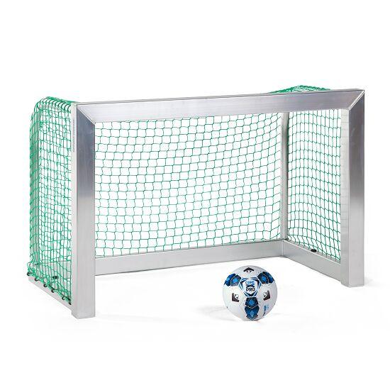 Sport-Thieme Mini-Fussballtor, vollverschweisst 1,20x0,80 m, Tortiefe 0,70 m, Inkl. Netz, grün (MW 4,5 cm)