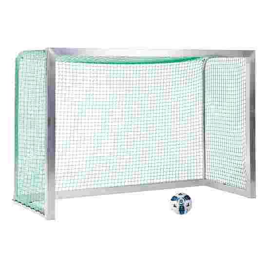 Sport-Thieme Mini-Fussballtor, vollverschweisst 2,40x1,60 m, Tortiefe 1,00 m, Inkl. Netz, grün (MW 4,5 cm)