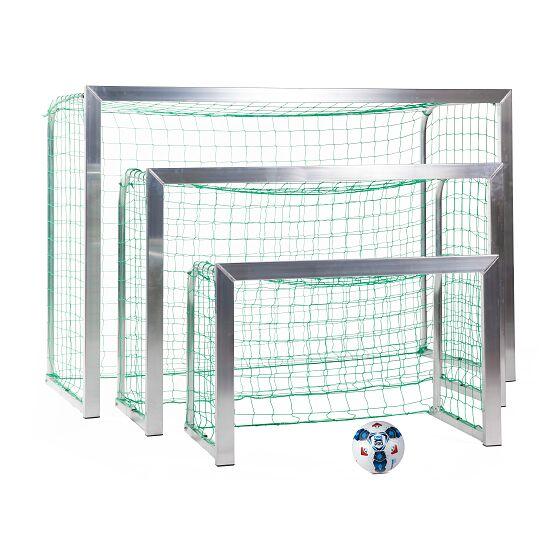 Sport-Thieme Mini-Trainingstor mit anklappbaren Netzbügeln 1,20x0,80 m, Tortiefe 0,70 m, Inkl. Netz, grün (MW 10 cm)