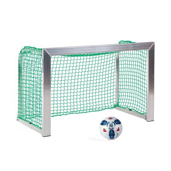 Sport-Thieme Mini-Trainingstor mit anklappbaren Netzbügeln 1,20x0,80 m, Tortiefe 0,70 m, Inkl. Netz, grün (MW 4,5 cm)