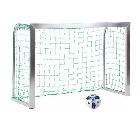 Sport-Thieme Mini-Trainingstor mit anklappbaren Netzbügeln 1,80x1,20 m, Tortiefe 0,70 m, Inkl. Netz, grün (MW 10 cm)